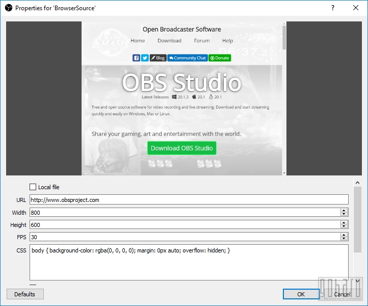 UPDATE] [Руководство] Open Broadcaster Software STUDIO